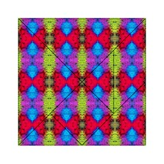 Colorful Painting Goa Pattern Acrylic Tangram Puzzle (6  x 6 )
