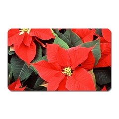 POINSETTIA Magnet (Rectangular)