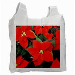 POINSETTIA Recycle Bag (One Side)