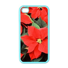 POINSETTIA Apple iPhone 4 Case (Color)