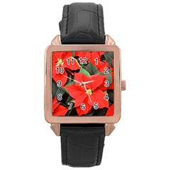 POINSETTIA Rose Gold Watches