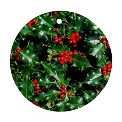HOLLY 2 Ornament (Round)