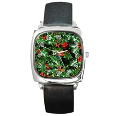 HOLLY 2 Square Metal Watches