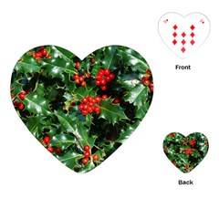 HOLLY 2 Playing Cards (Heart)