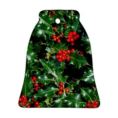 HOLLY 2 Ornament (Bell)