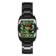HOLLY 2 Stainless Steel Barrel Watch
