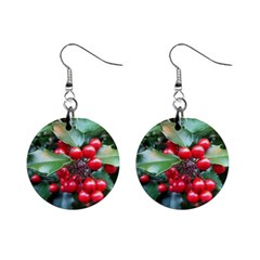HOLLY 1 Mini Button Earrings