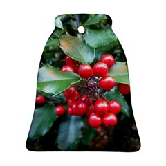 HOLLY 1 Ornament (Bell)