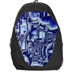 Reflective Illusion 01 Backpack Bag