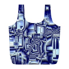 Reflective Illusion 01 Full Print Recycle Bags (L)