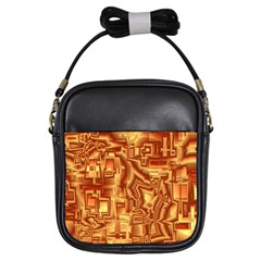 Reflective Illusion 02 Girls Sling Bags