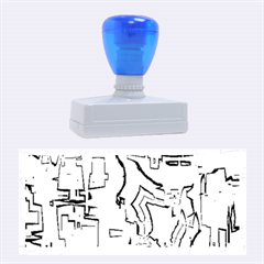Reflective Illusion 02 Rubber Stamps (large)