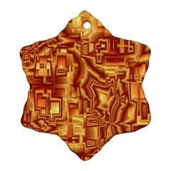 Reflective Illusion 02 Ornament (Snowflake)