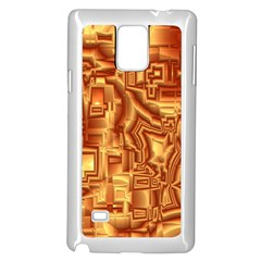 Reflective Illusion 02 Samsung Galaxy Note 4 Case (White)