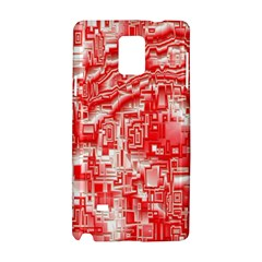 Reflective Illusion 03 Samsung Galaxy Note 4 Hardshell Case