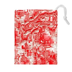 Reflective Illusion 03 Drawstring Pouches (Extra Large)