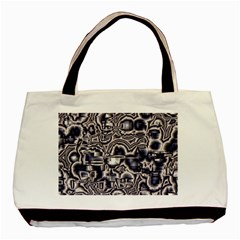 Reflective Illusion 04 Basic Tote Bag