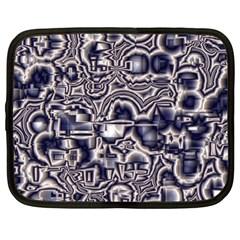 Reflective Illusion 04 Netbook Case (large)