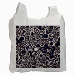 Reflective Illusion 04 Recycle Bag (One Side)
