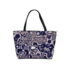 Reflective Illusion 04 Shoulder Handbags