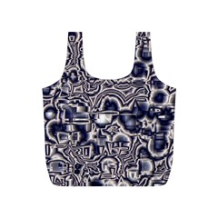 Reflective Illusion 04 Full Print Recycle Bags (S)