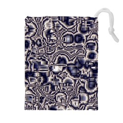 Reflective Illusion 04 Drawstring Pouches (extra Large)