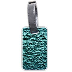Green Metallic Background, Luggage Tags (One Side)