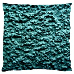 Green Metallic Background, Large Flano Cushion Cases (Two Sides)