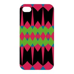 Rhombus and other shapes pattern			Apple iPhone 4/4S Premium Hardshell Case