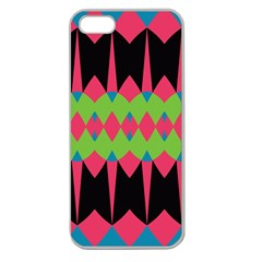 Rhombus and other shapes pattern			Apple Seamless iPhone 5 Case (Clear)