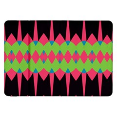 Rhombus and other shapes patternSamsung Galaxy Tab 8.9  P7300 Flip Case