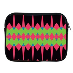 Rhombus and other shapes pattern			Apple iPad 2/3/4 Zipper Case