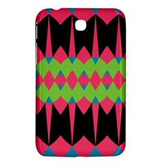 Rhombus and other shapes pattern			Samsung Galaxy Tab 3 (7 ) P3200 Hardshell Case