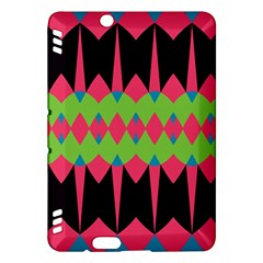 Rhombus and other shapes pattern			Kindle Fire HDX Hardshell Case