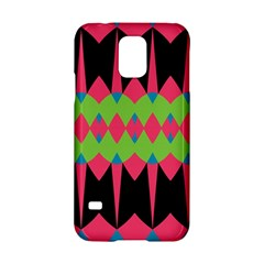 Rhombus and other shapes patternSamsung Galaxy S5 Hardshell Case