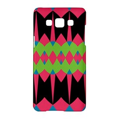 Rhombus and other shapes patternSamsung Galaxy A5 Hardshell Case