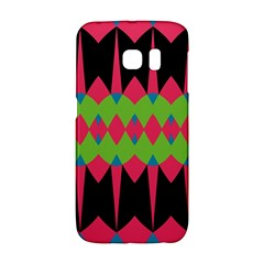 Rhombus and other shapes patternSamsung Galaxy S6 Edge Hardshell Case