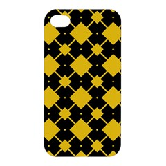 Connected rhombus pattern Apple iPhone 4/4S Hardshell Case