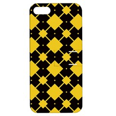 Connected rhombus patternApple iPhone 5 Hardshell Case with Stand