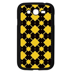 Connected rhombus patternSamsung Galaxy Grand DUOS I9082 Case (Black)