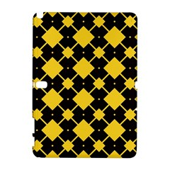 Connected rhombus pattern			Samsung Galaxy Note 10.1 (P600) Hardshell Case