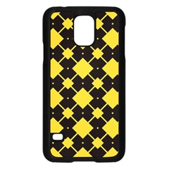 Connected rhombus pattern			Samsung Galaxy S5 Case (Black)