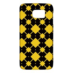 Connected rhombus pattern			Samsung Galaxy S6 Hardshell Case