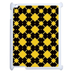 Connected rhombus pattern			Apple iPad 2 Case (White)