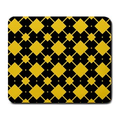 Connected rhombus patternLarge Mousepad