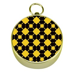 Connected rhombus patternGold Compass