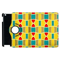 Colorful chains pattern			Apple iPad 2 Flip 360 Case
