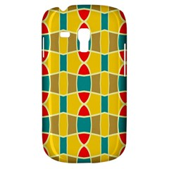 Colorful chains patternSamsung Galaxy S3 MINI I8190 Hardshell Case