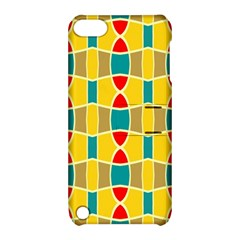 Colorful chains patternApple iPod Touch 5 Hardshell Case with Stand