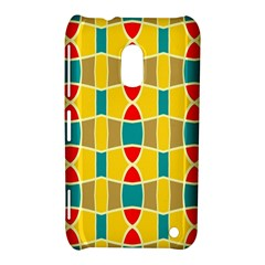 Colorful chains pattern			Nokia Lumia 620 Hardshell Case